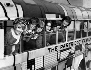 partridge_family_first_cast_1970